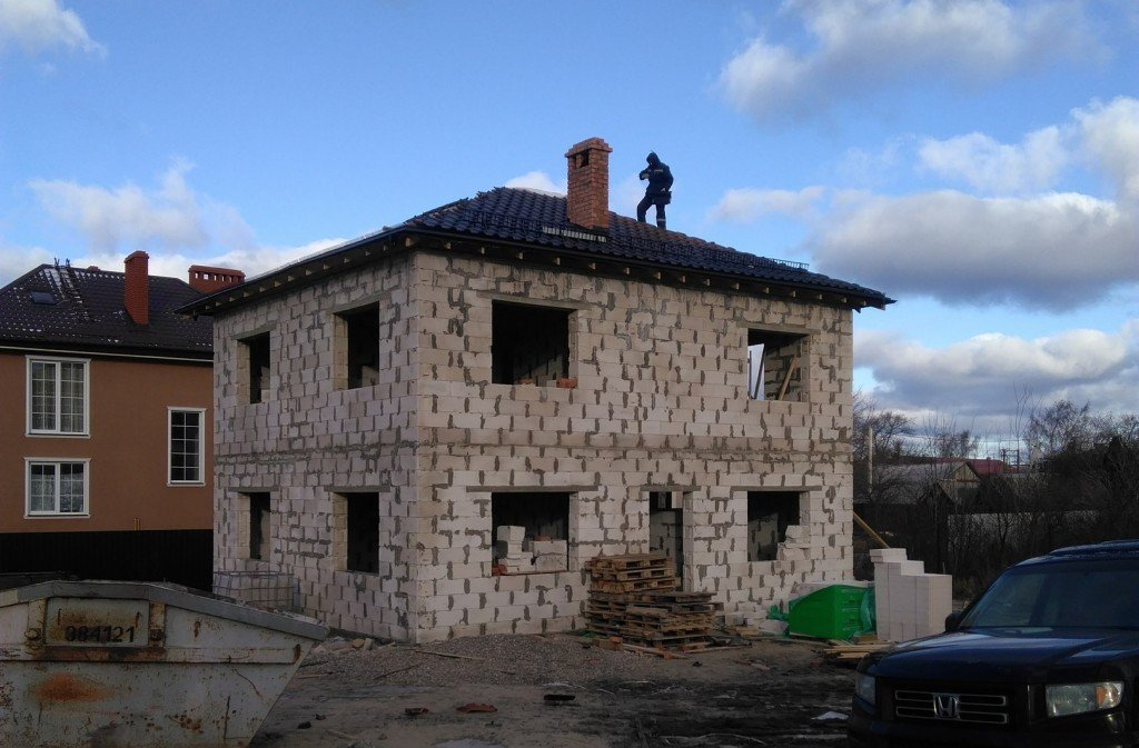 Дом из газосиликата (фото)