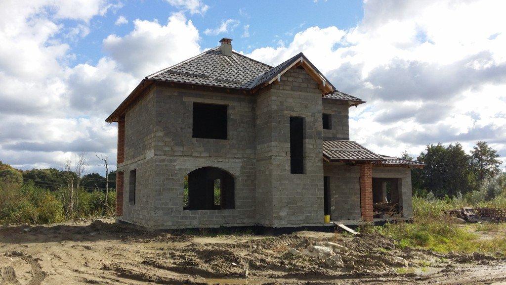 Дом из керамзитобетонных блоков (фото)
