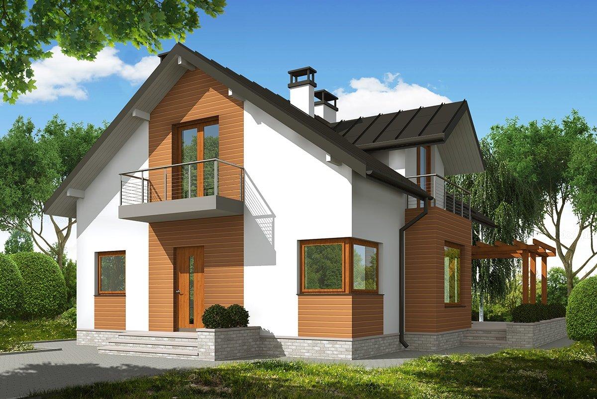 Проект дома «Улисса», фото 1