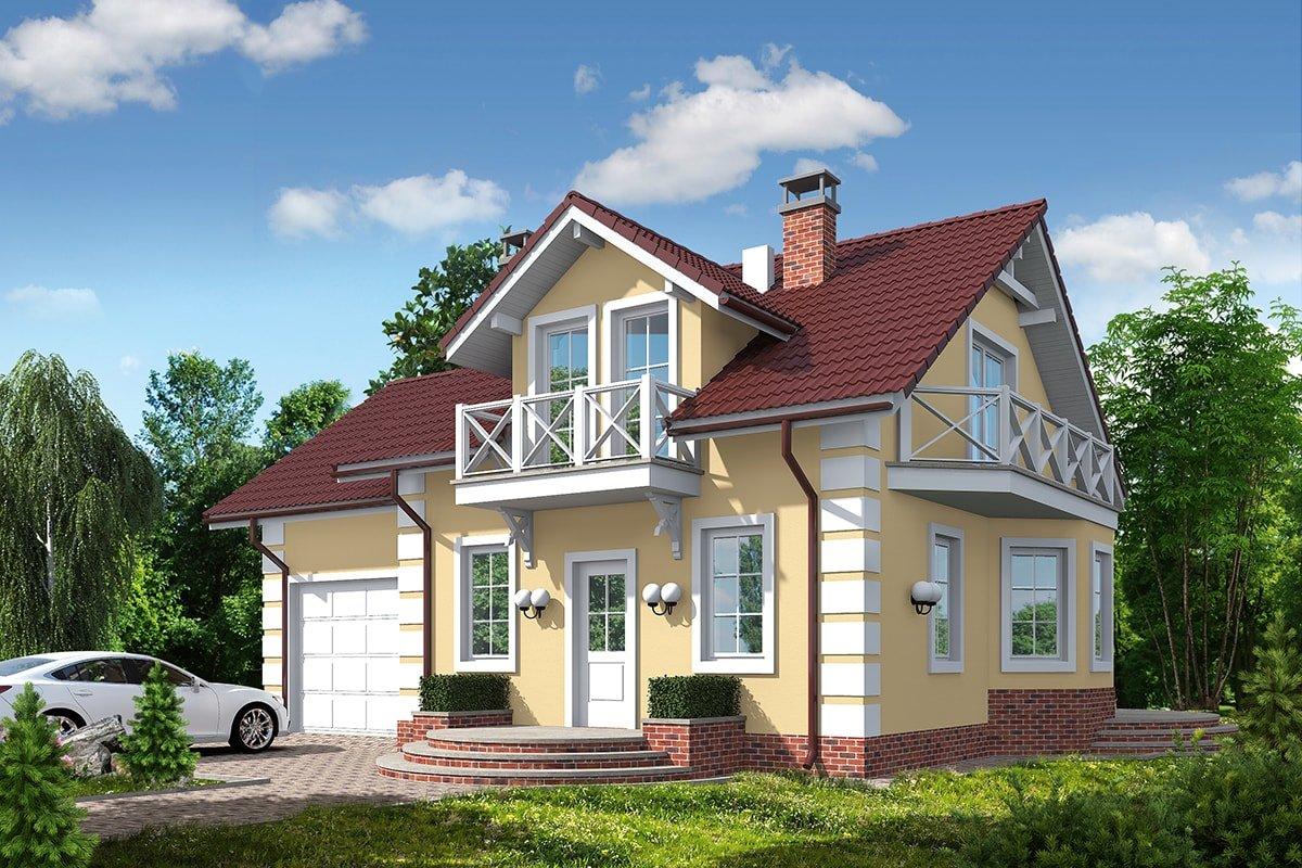 Проект дома «Октавиа», фото 1