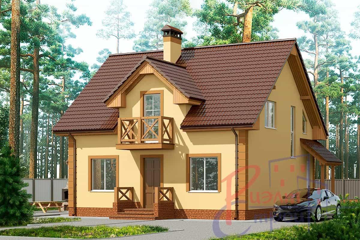 Проект дома «Сильвия», фото 1