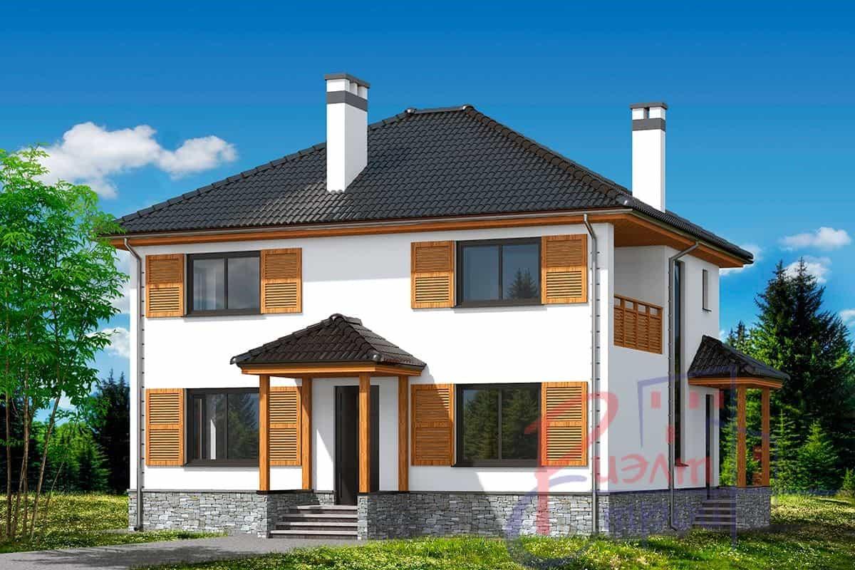 Проект дома «Роксана», фото 1