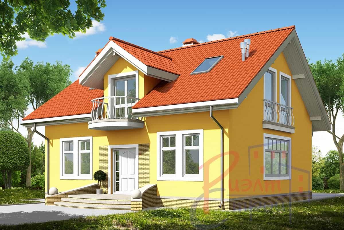 Проект дома «Ориана», фото 1