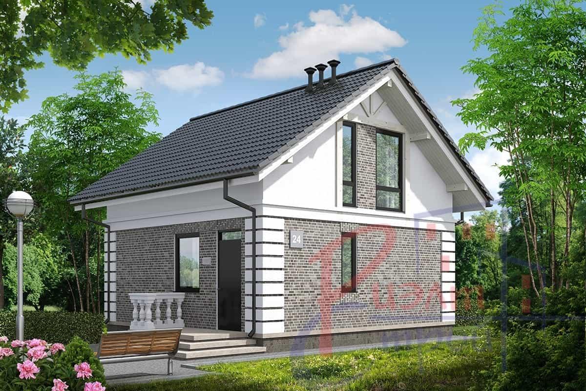 Проект дома «Ева», фото 1