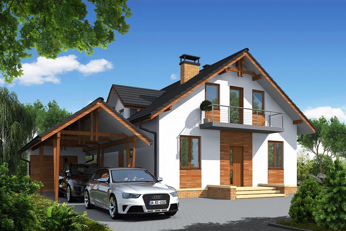 Проект дома «Джустина», фото 2