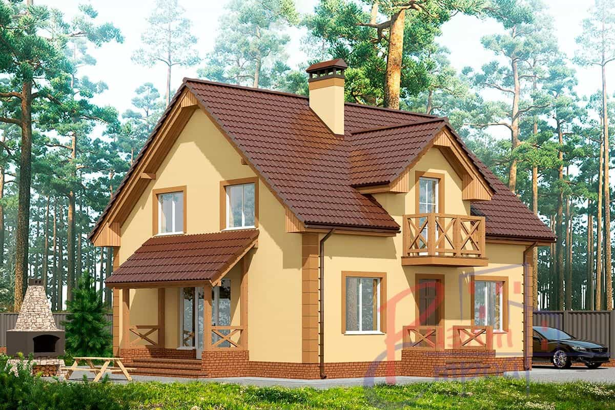 Проект дома «Сильвия», фото 2