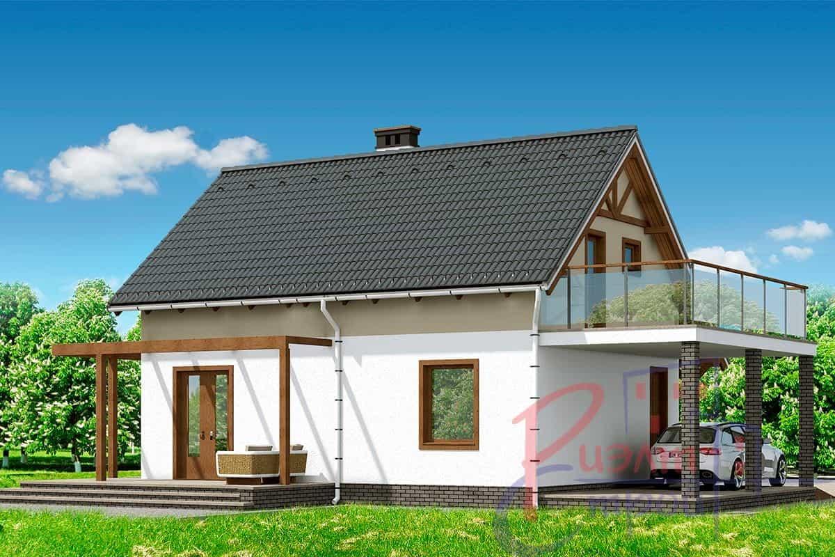 Проект дома «Полония», фото 2