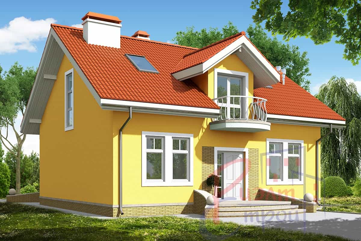 Проект дома «Ориана», фото 2