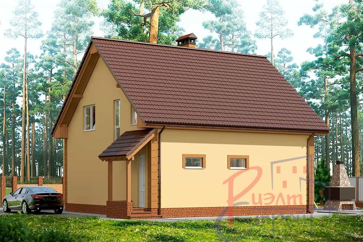 Проект дома «Сильвия», фото 3