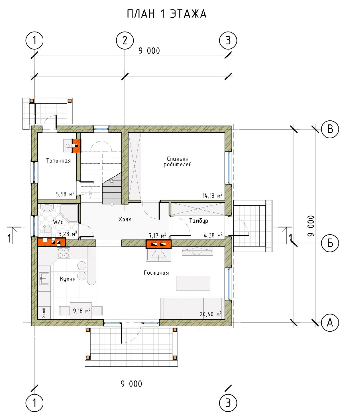 Проект дома «Сильвия», фото 4