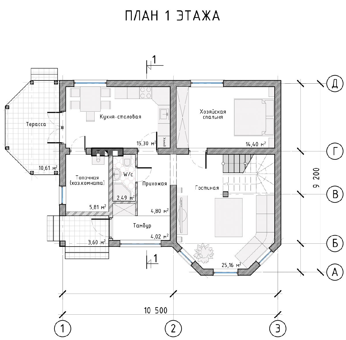 Проект дома «Ровена», фото 4