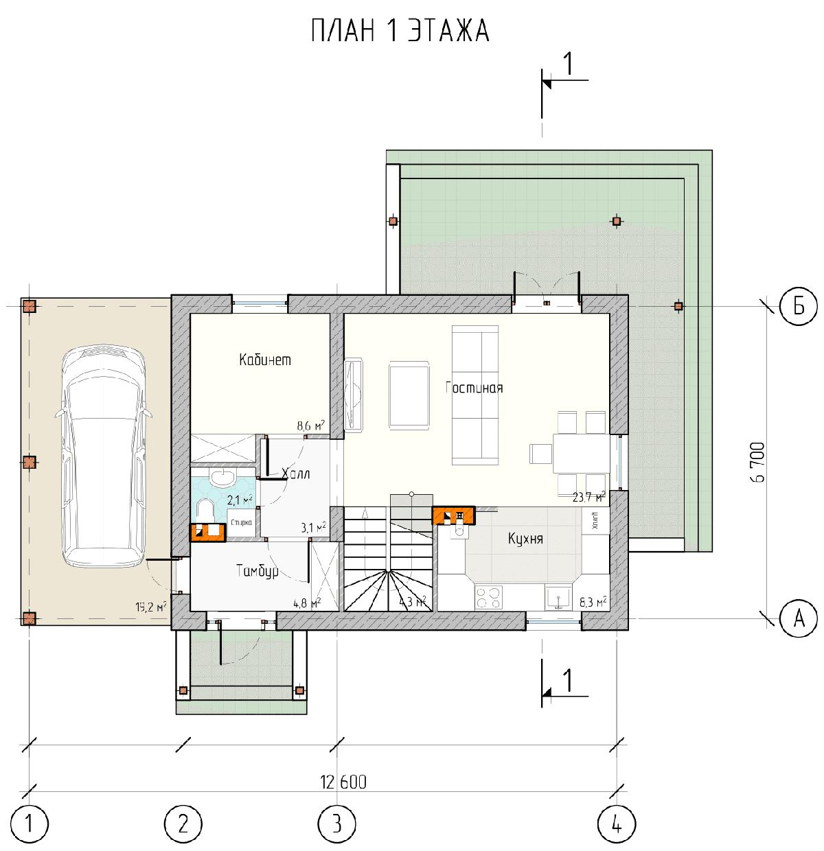 Проект дома «Полония», фото 4