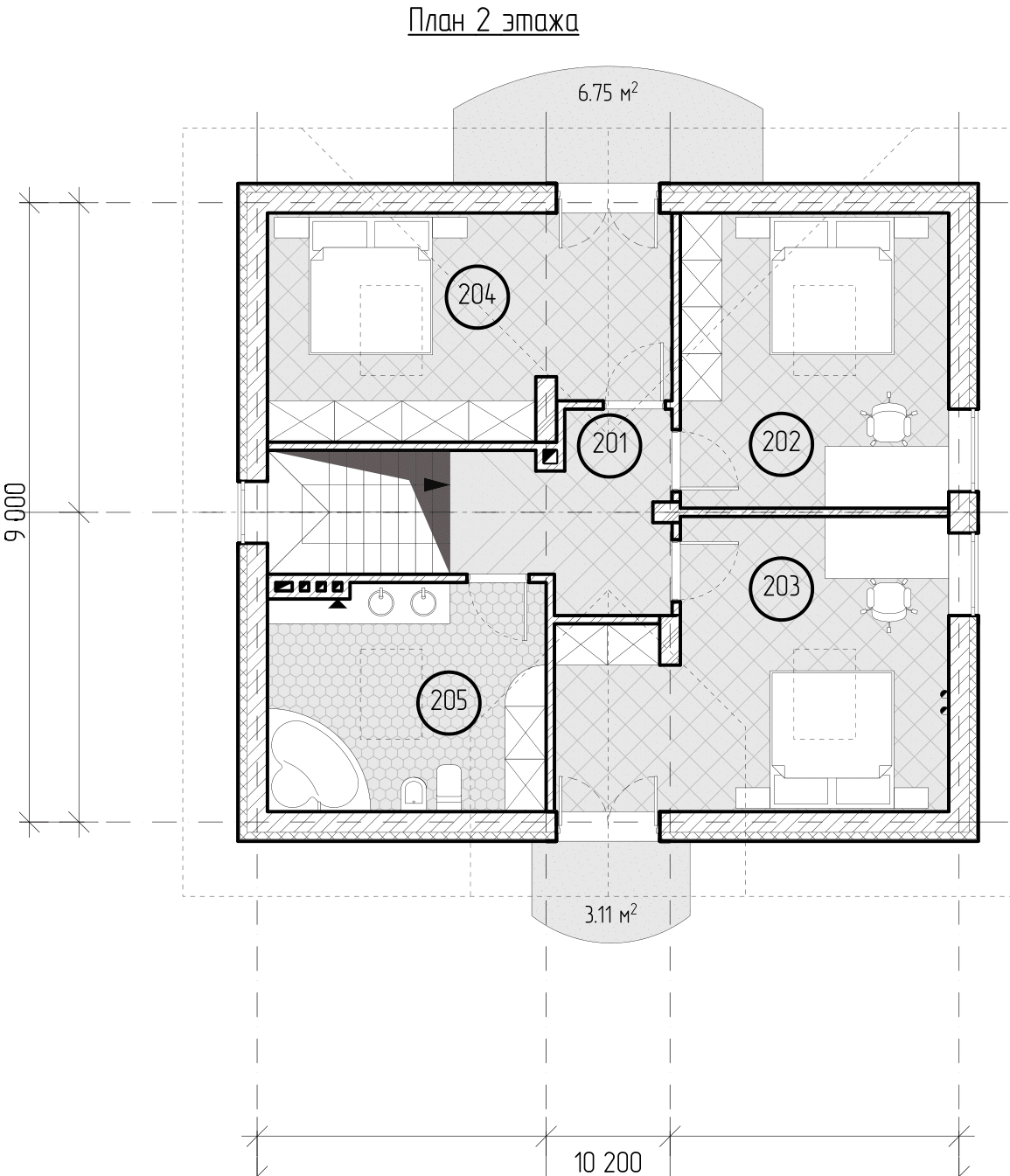 Проект дома «Ориана», фото 5