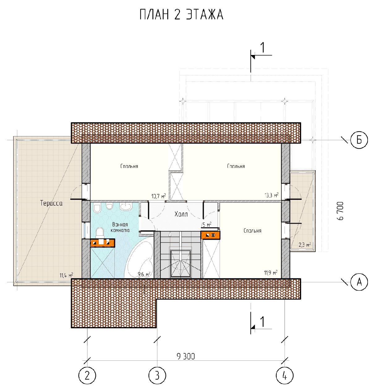 Проект дома «Полония», фото 5