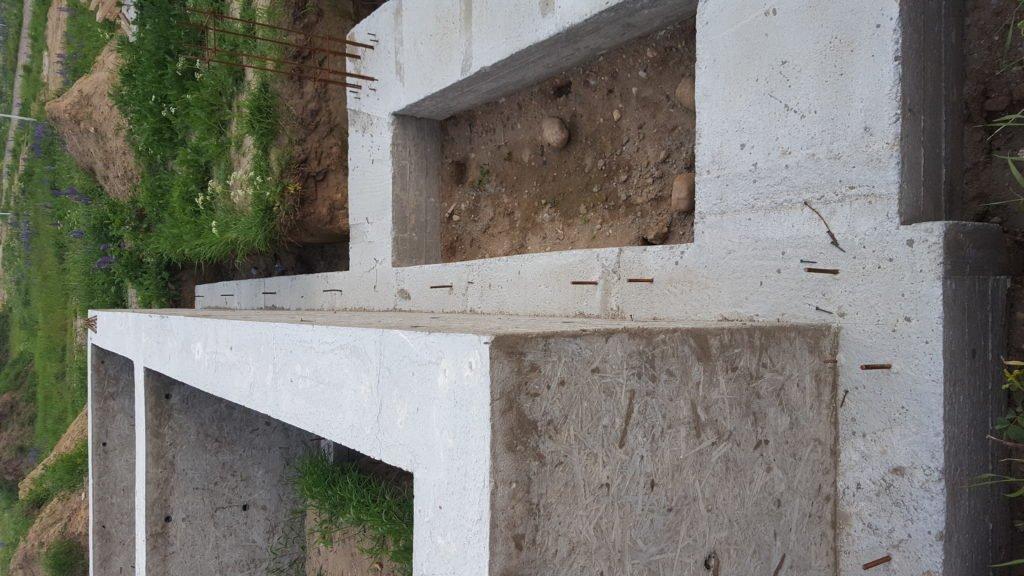 Ленточный фундамент в Гурьевске
