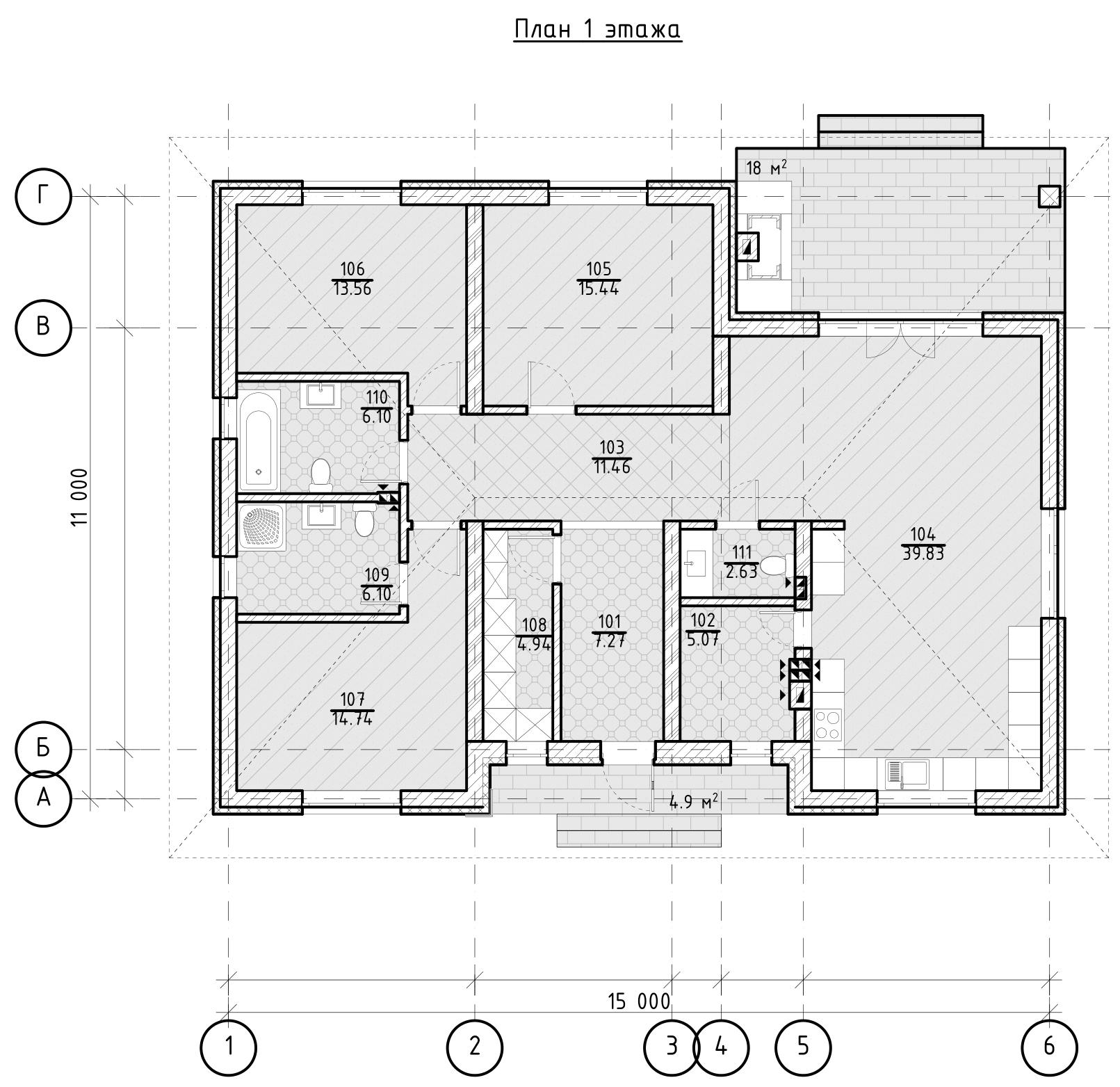 Проект дома «Лукреция», фото 4
